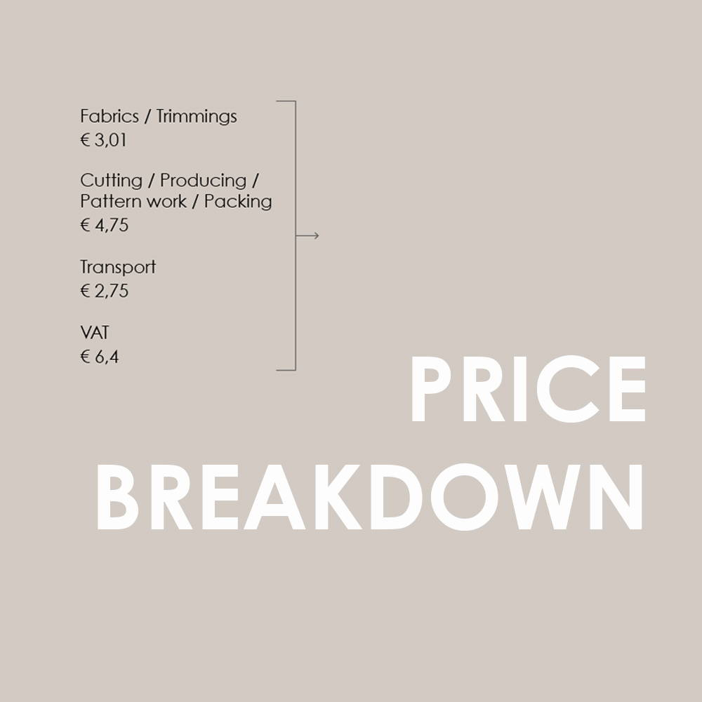 price breakdown