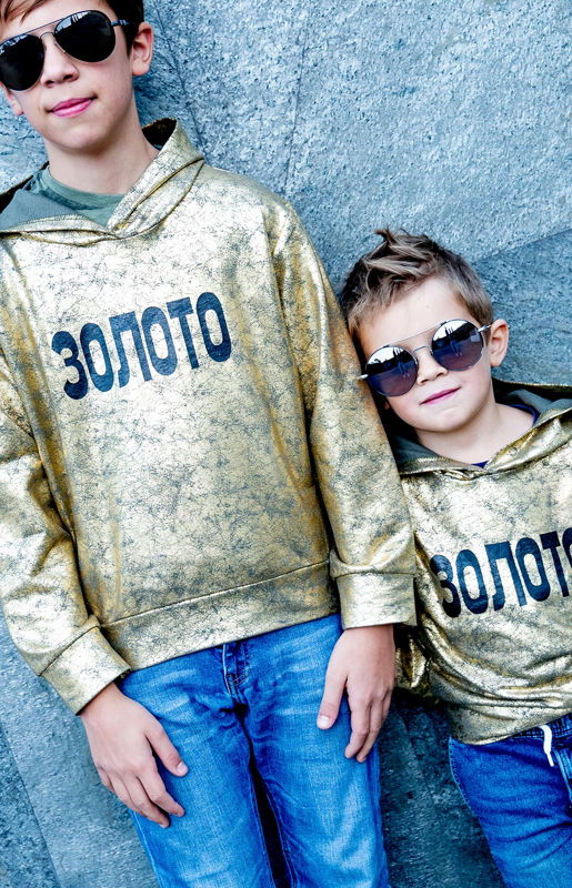 Детский свитшот Золото