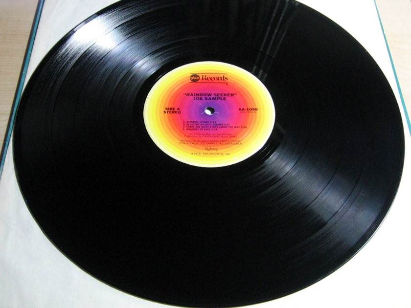 Joe Sample - Rainbow Seeker - 1978  ABC Records AA-1050