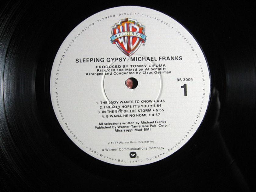 Michael Franks - Sleeping Gypsy - 1977 Warner Bros. Records BS 3004