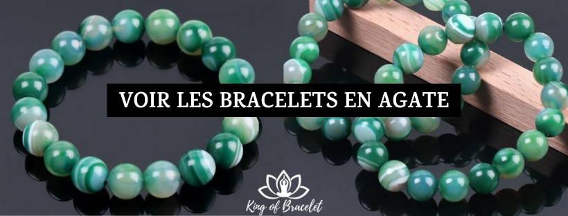 Bracelet Agate Verte - King of Bracelet