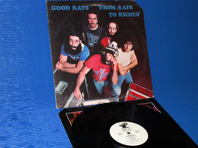 """GOOD RATS   -  """"FROM RATS TO RICHES"""" -  Passport Records 1978 'WLP' Promo"""