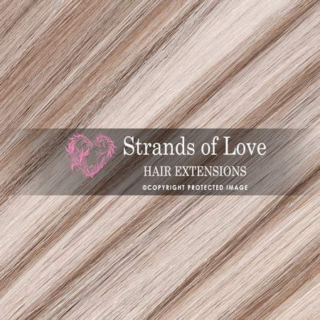 Strands Of Love Hair Extensions Colour Light Ash Highlight
