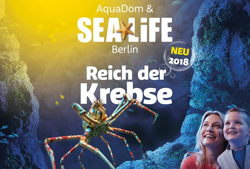 aquadom und sea life berlin reich der krebse landscape web