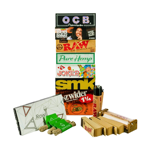Basic Weed Smoking Accessories - Best Rolling Papers - Dankstop
