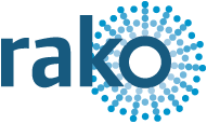 Rako logo showing Faradite works with Rako