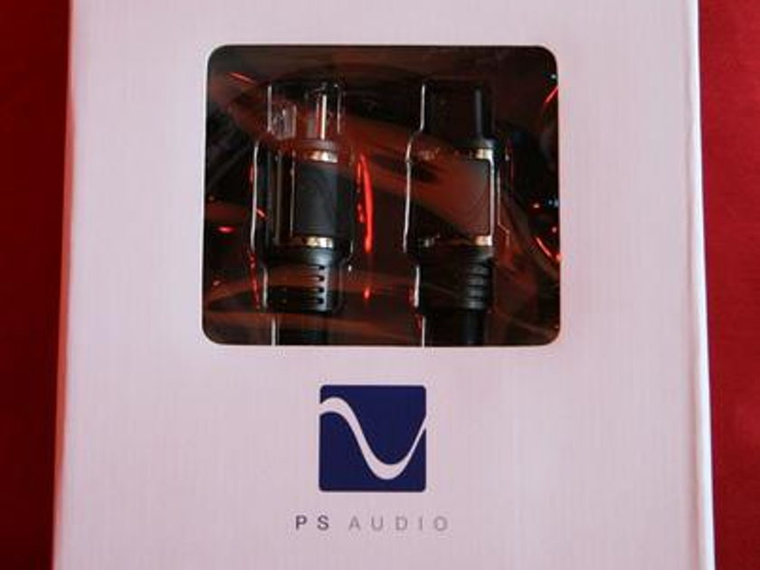 PS AUDIO Perfect Wave AC-5 1.5m AC Power Cord!!!