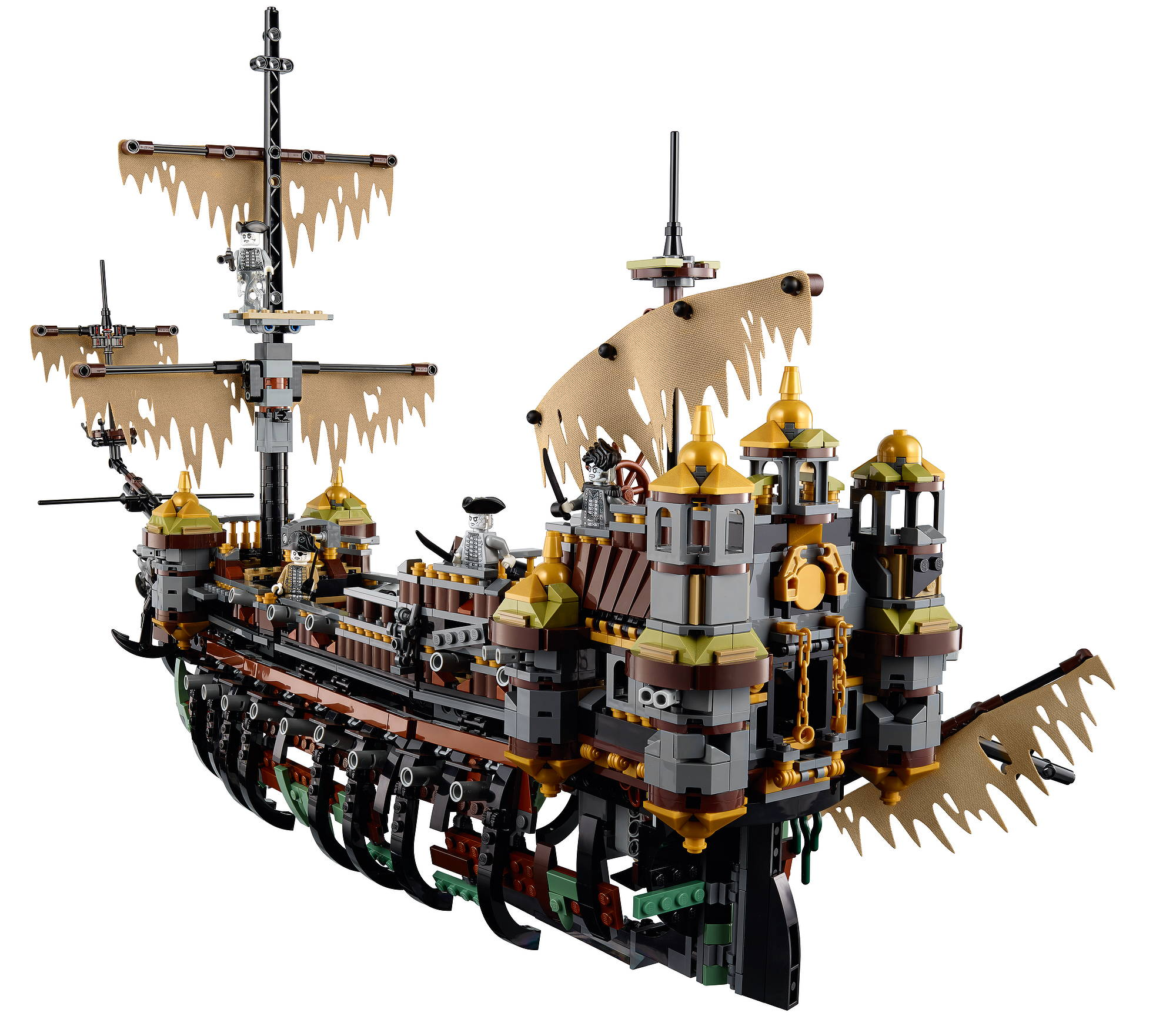 LEGO pirate silent mary 71042