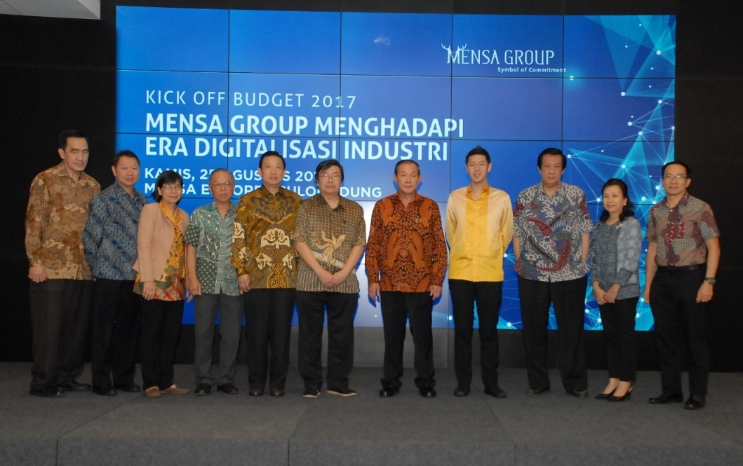 Kick Off Budget 2017 – Mensa Group in Facing the Era of Digitalization Industry