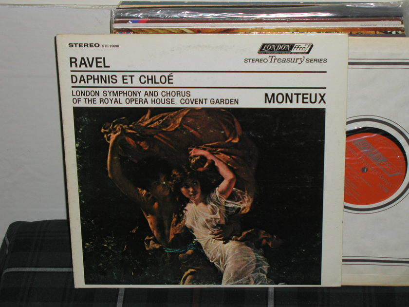 Monteux/LSOC ROHO Covent - Ravel Daphnis Et Chloe London STS UK/Decca