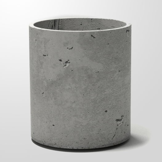 Вазон из бетона Cylinder 405