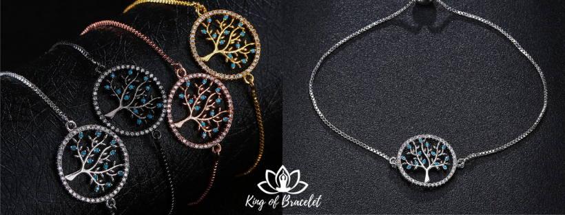 Bracelet Arbre de Vie sur Chaîne - King of Bracelet