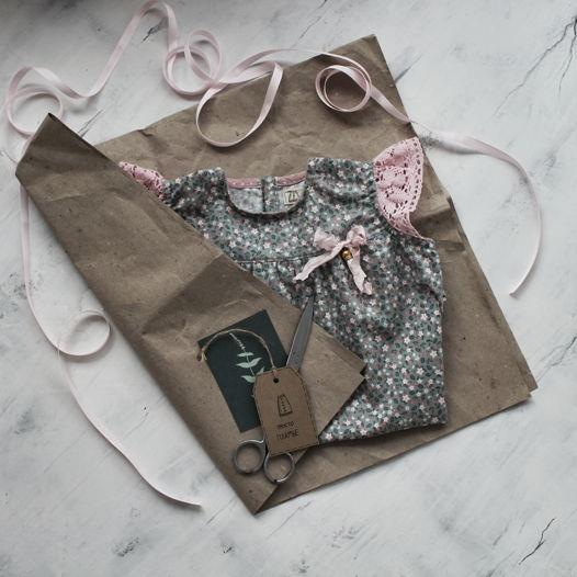 Платье для девочки Елена Прекрасная с рукавами-крылышками