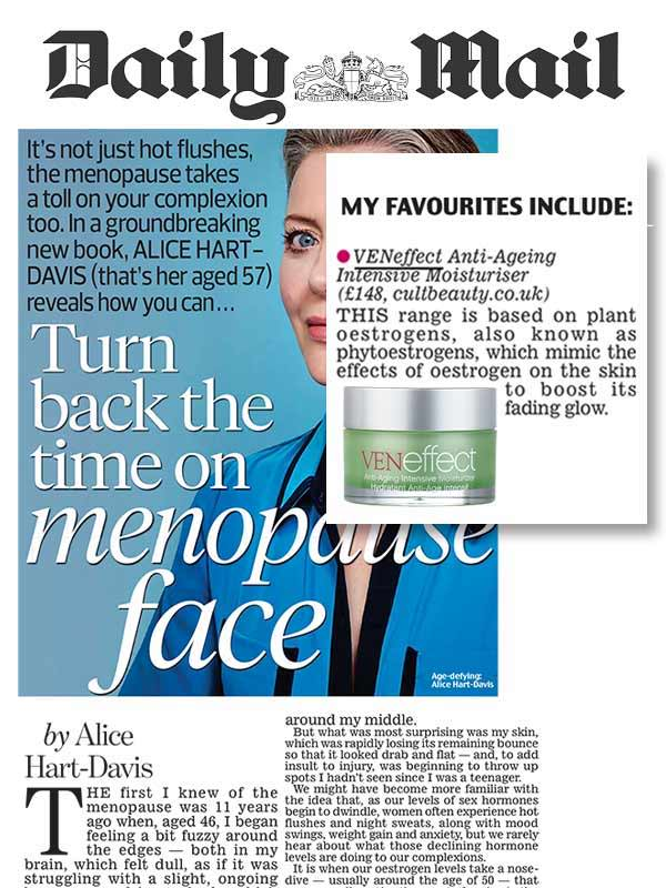 Turn back the time on menopause face with VENeffect