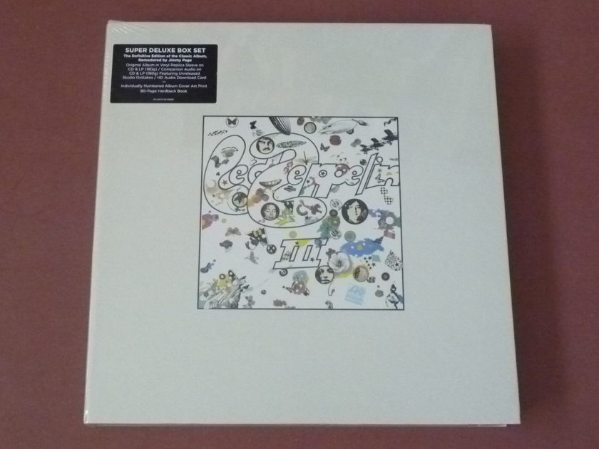 Led Zeppelin NEW - Super Deluxe Box Set all 9 boxes collection sealed LP CD DVD