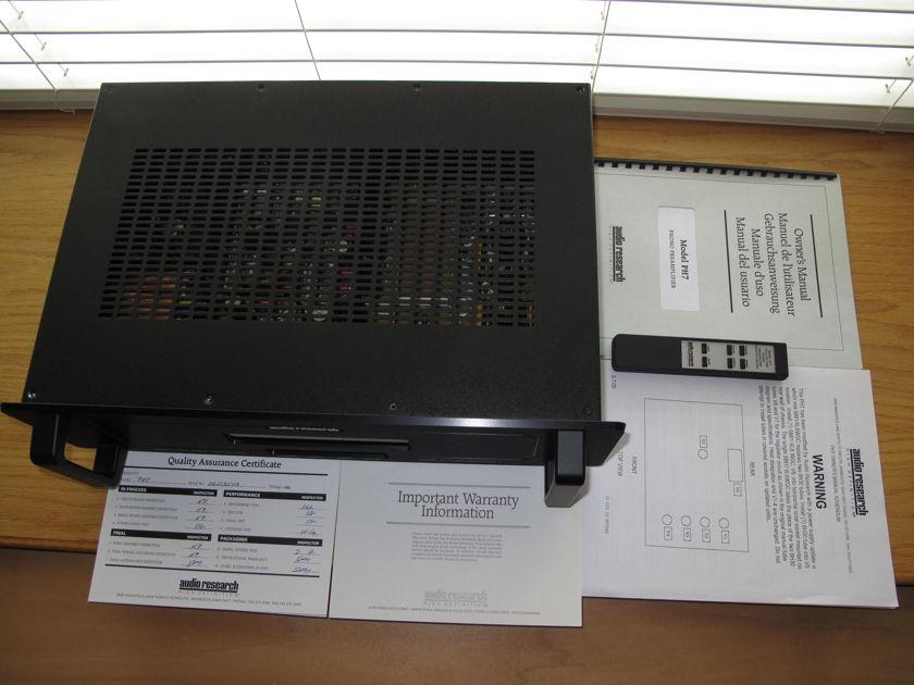 Audio Research PH7 phono (Black) latest power supply upprade version