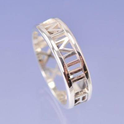 personalised rings. handmade bespoke jewellery