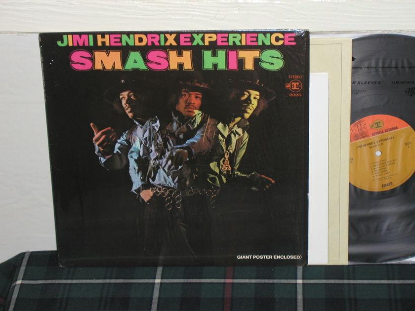 Jimi Hendrix - Smash Hits 1 press In shrink w/poster
