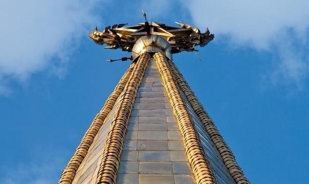 Экскурсия на крышу Сталинки