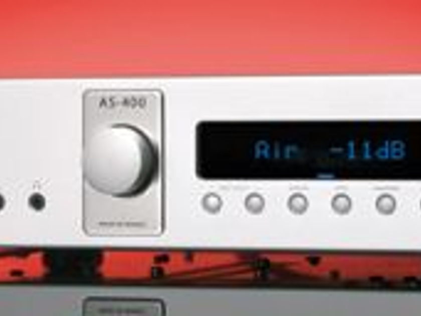 Micromega AS-400 200wpc Black Refurb w/phono/digital streaming-10Yr warranty