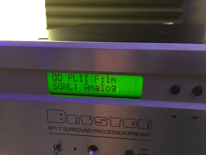 Bryston SP-1.7 Surround Preamp - 2 Channel BP-25 equivalent