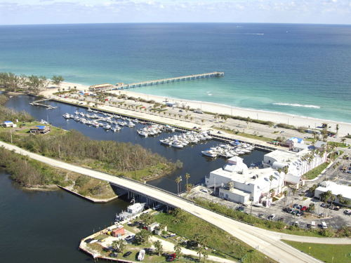 skyview of Dania Beach