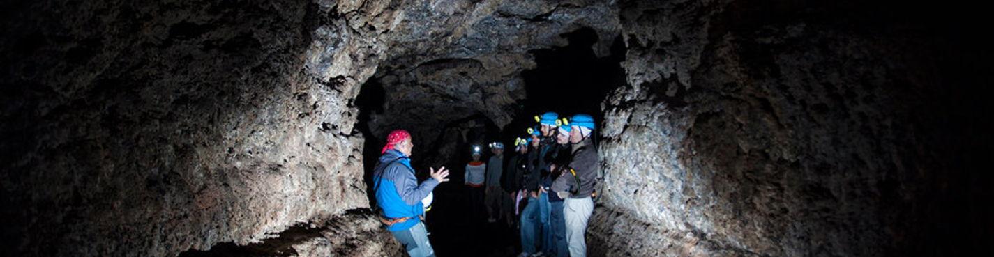 Вулканическая пещера Ветра