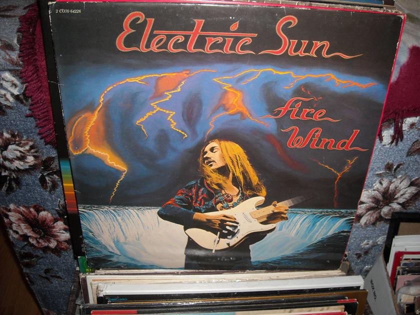 Electric Sun - Fire Wind EMI  LP (c)
