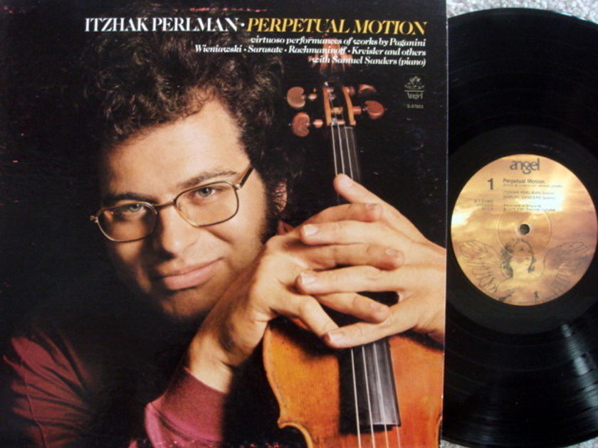 EMI Angel / PERLMAN-SANDERS, - Perpetual Motion, NM!