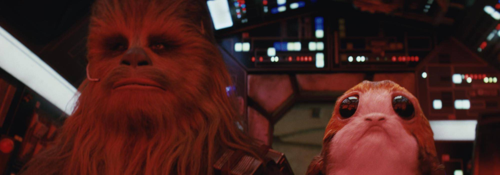 Chewie and Porgs Header Image