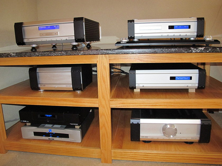 MUSICAL FIDELITY kW SERIES whole set kW500 SACD DAC Transport STABLE-1