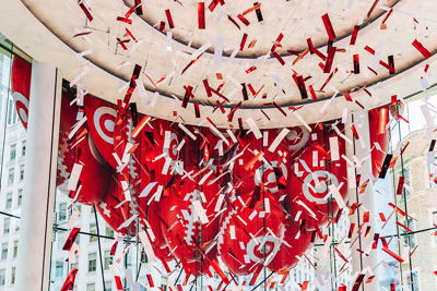 Confetti Display Footballs