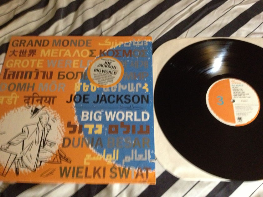 Joe Jackson - Big World 2 LP 3 Sided LP NM A & M Label