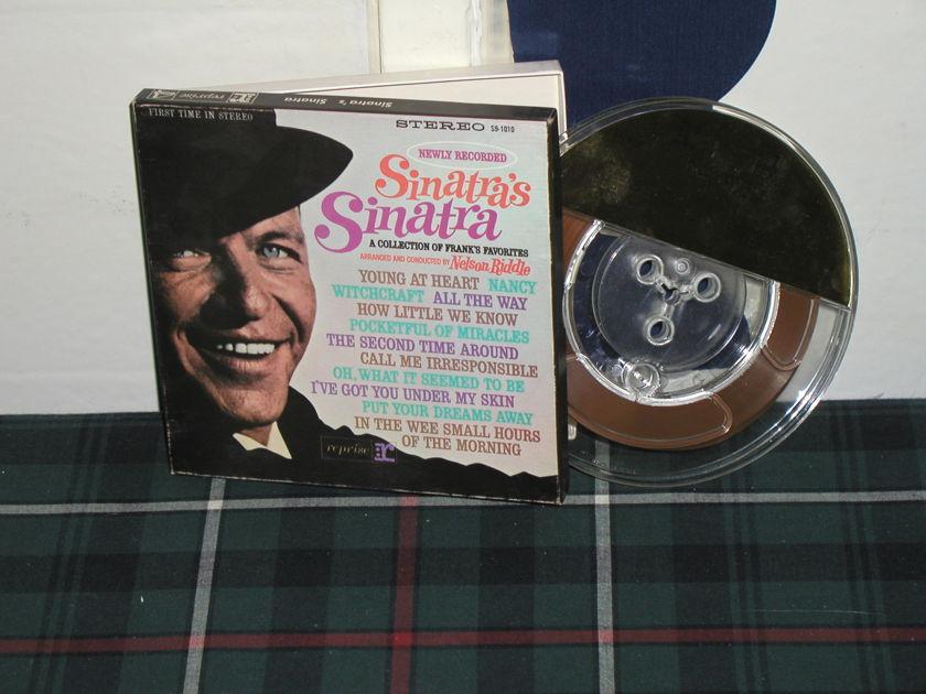 Frank Sinatra - Sinatra's Sinatra 7 1/2 ips Open Reel Tape