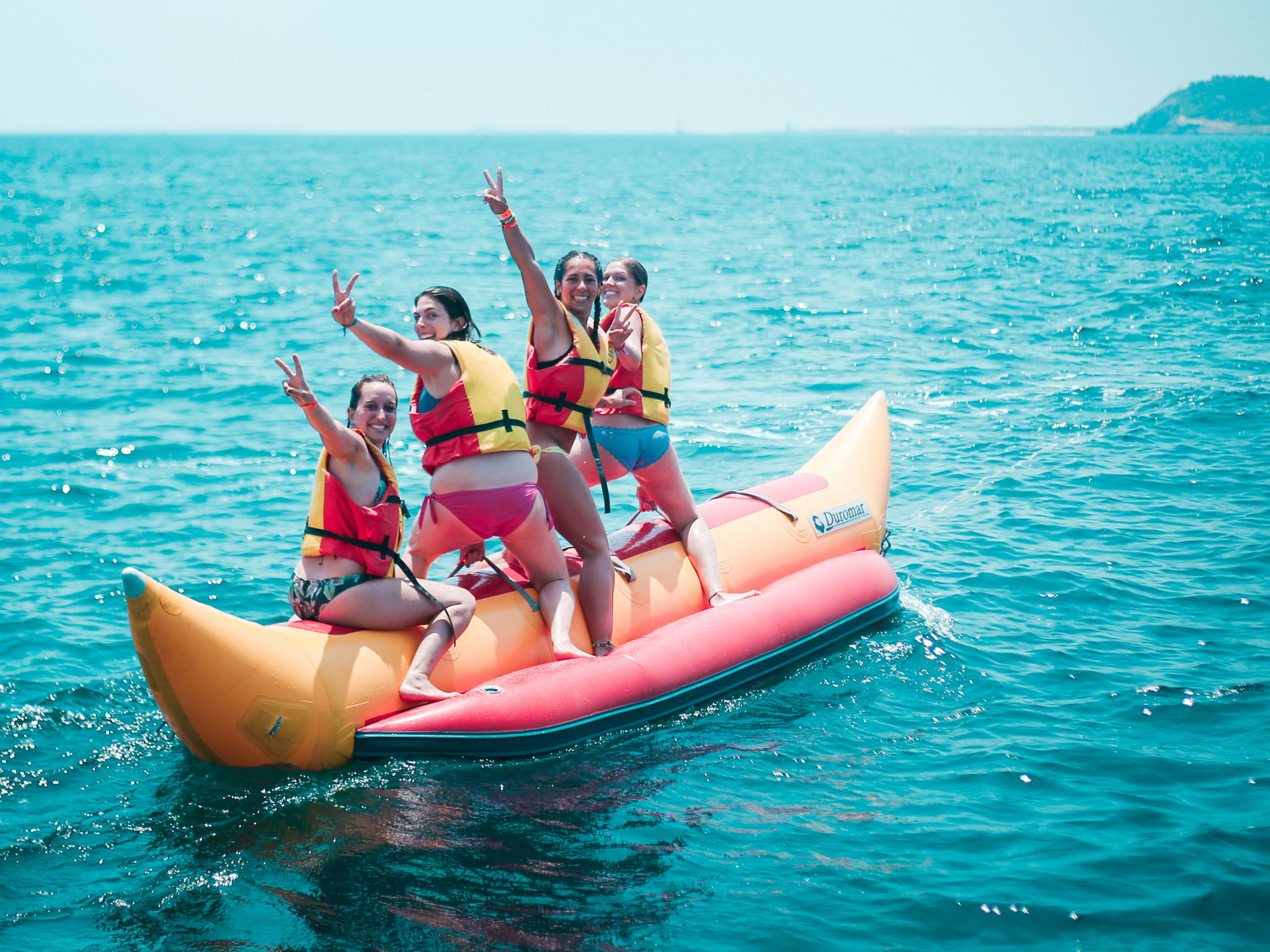 Water sports and fun in Ibiza boat party