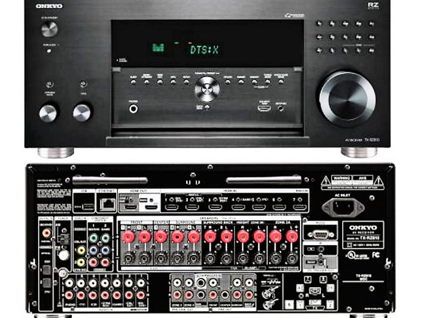Onkyo TX-RZ1100 Best sounding 9.2-Channel Network Dolby Atmos® and DTS:X™ AccuEQ room calibration better value,better performance then any under $2000