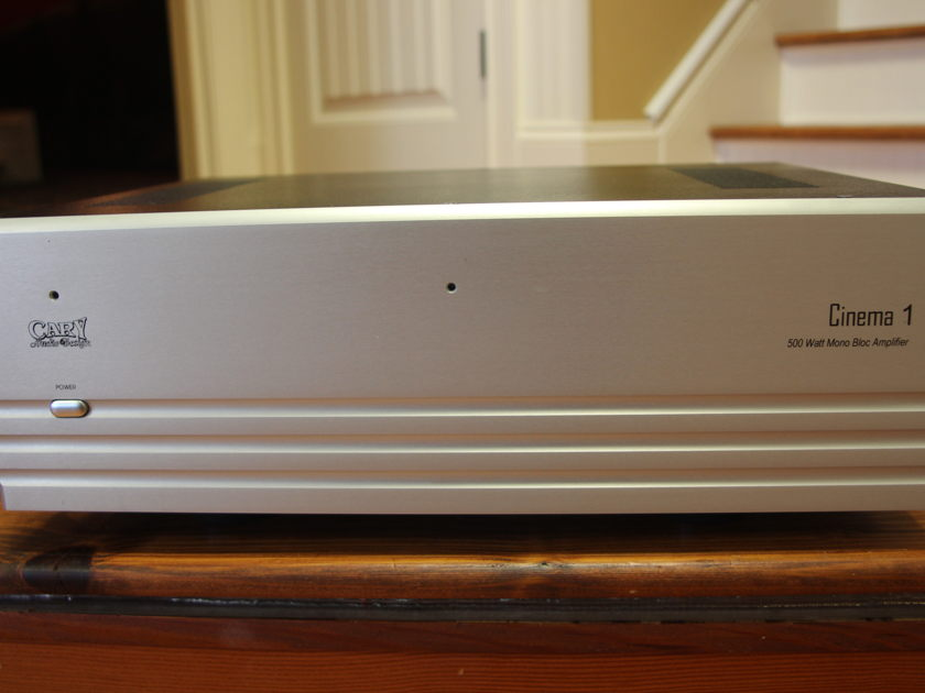 "Cary Audio Design ""Cinema 1"" amps S/N's 103 & 104 Pure Balanced 500 Watt Mono Block Power Amplifiers"