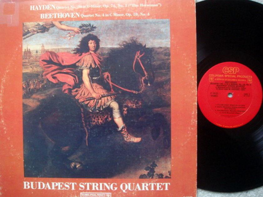 Columbia / BUDAPEST QT, - Haydn-Beethoven String Quartets, NM-!