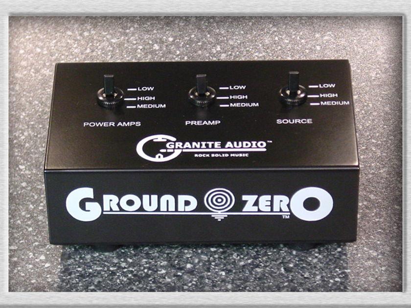 Granite Audio Ground Zero model 501 - brand new 10/10