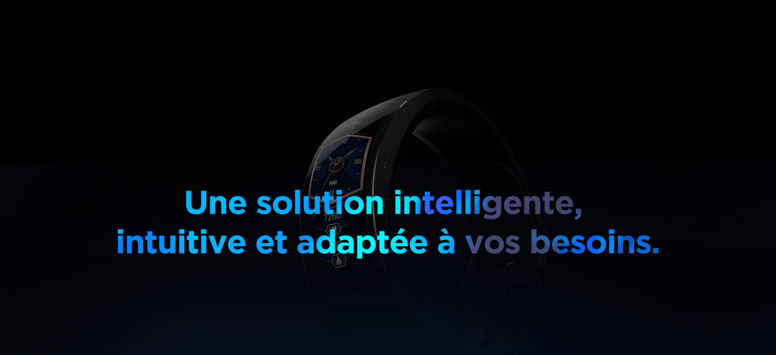 Amazfit X - Une solution intelligente,intuitive et adaptée à vos besoins.