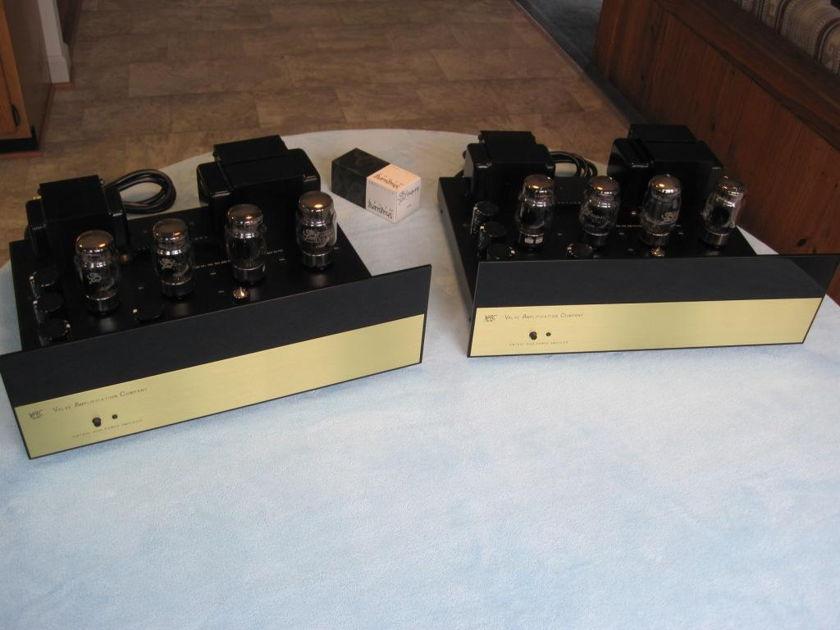 "Valve Amplification Company ""Vintage"" aka ""V100"" 100W monoblock power amp (one pair)"