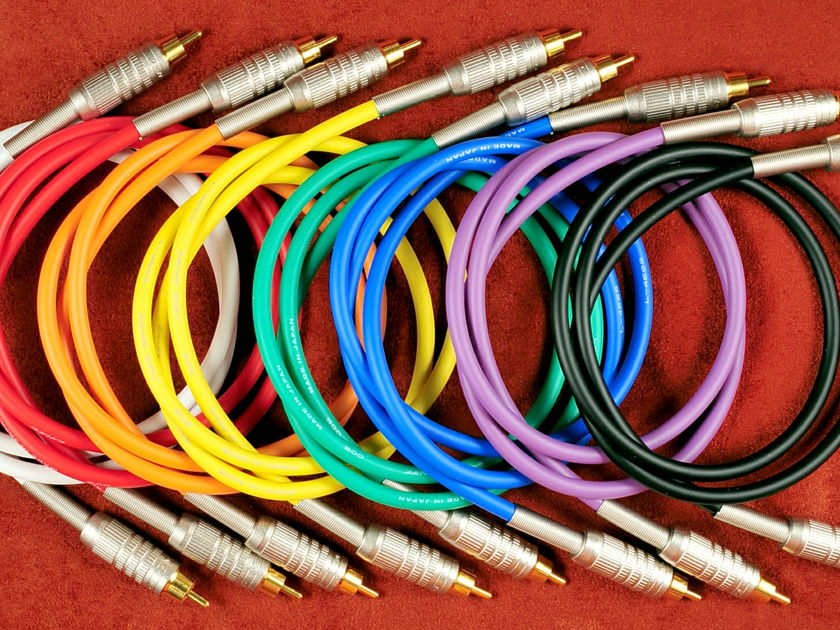 Canare 7.1 Cables to 3 Feet RCA or XLR Cottage Cables 713