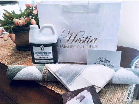 Hestia Linens Basket