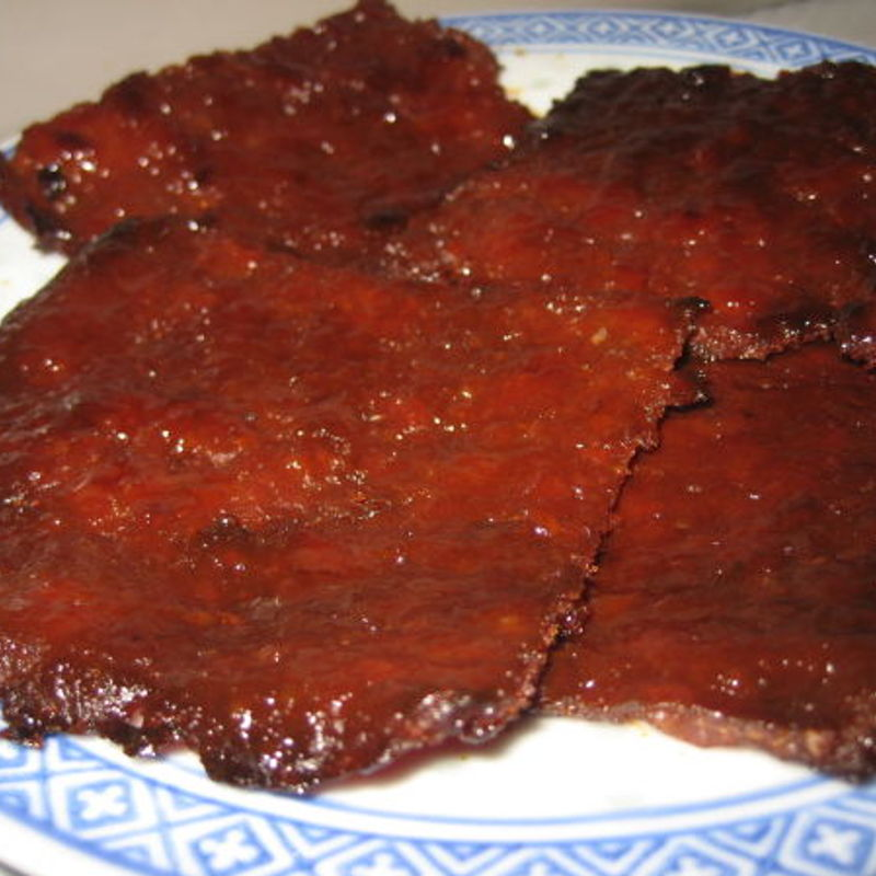 So this is the bakkwa which I attempted  this evening. Turned out  great! Thanks Grace. Will try making other CNY goodies of yours.
