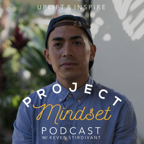 Keven's album cover for project mindset the podcast