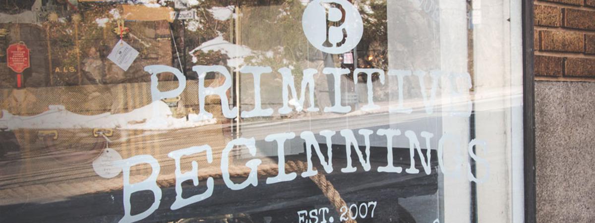 Primitive Beginnings in Ellicott City