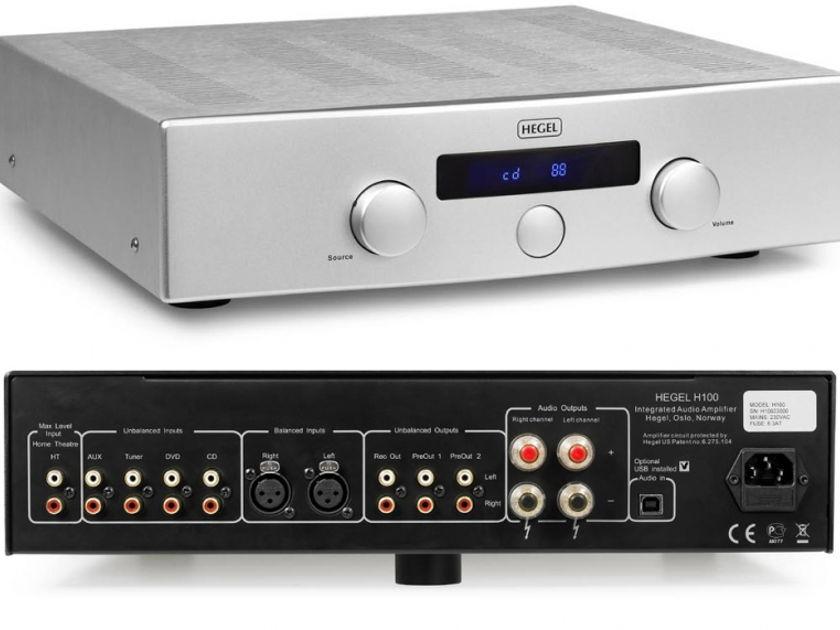 Hegel H100 Integrated Amp