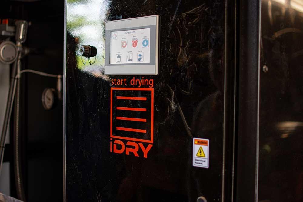 I Dry wood drying machine control system