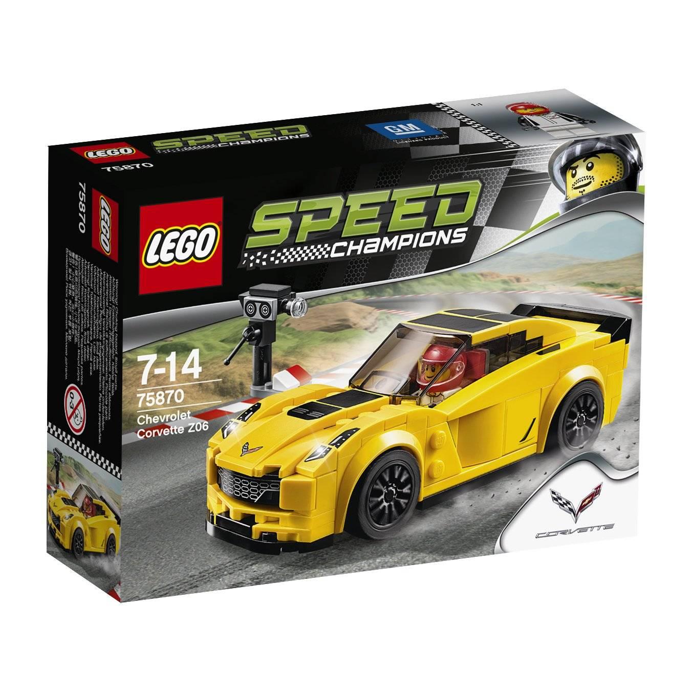 LEGO 75870: Chevrolet Corvette Z06