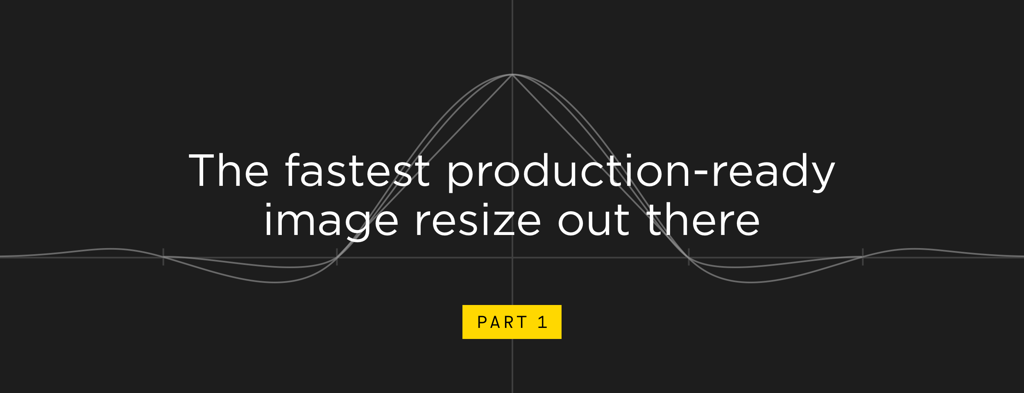 The fastest production-ready image resize out there, part 1: general optimizations